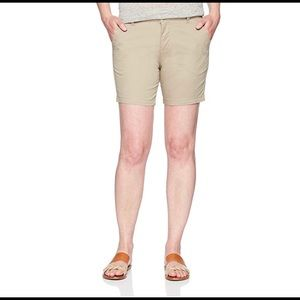 "Riders by Lee Indigo 6"" inseam twill walk short 16"